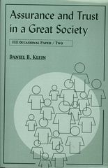 $4.95, FEE Store - Assurance and Trust in a Great Society