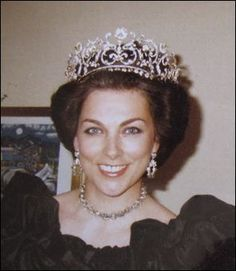 Princess Barbara of Yugoslavia wearing the tiara