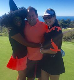 """On a beautiful day we celebrated Halloween with friends. Actually got my husband to wear orange which is a hard thing to do...The witch I was. It was such a fun day."" Thank you for sharing your favorite #PelicanHill memory with us, Wendy!"
