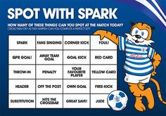 Clever fan engagement for kids with this QPR bingo