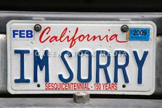 Gallery For > California License Plate On Car Funny License Plates, Vanity License Plates, Licence Plates, California License, Vanity Plate, Arcade, Cami, Clever, Sticker