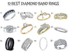9cab0ababd7 diamond band ring Wedding Band Styles