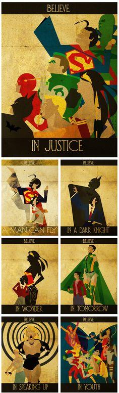 DC Comics: Believe, artwork by Kerrith Johnson (2012)