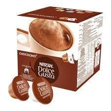 NESCAFÉ Dolce Gusto CHOCOCINO kapszula 16 db ital készíthető belőle. A Nescafé Dolce Gusto Chococino egy bársonyos forró csokoládé, válogatott kakaóbabból.