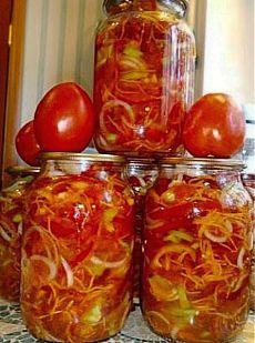 Советую взять на заметку помидоры по — корейски, просто пальчики оближешь.