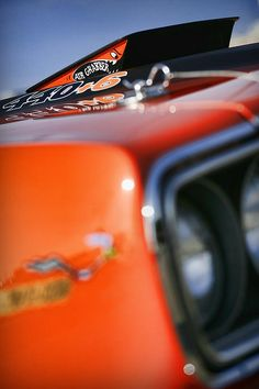 1970 Plymouth Road Runner in Vitamin C Orange - by Gordon Dean II