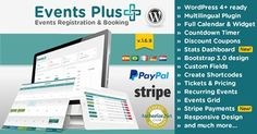 EVENTS CALENDAR REGISTRATION & BOOKING V1.6.9 For WORDPRESS, Ready for Free Download on: HTTPS://UnikTheme.com EVENTS CALENDAR REGISTRATION & BOOKING V1.6.9 advanced Events Manager plugin allows you to easily create and manage all your online events. Allow visitors to register and pay online for events, manage attendees, create discount coupons, export attendees list, create recurring events, and much more.
