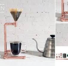 Resultado de imagem para copper pour over coffee