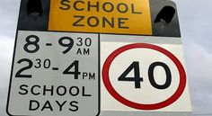 Several Gold Coast schools are set to benefit from the Palaszczuk Government's flashing school zone signs safety plan. School Zone Sign, Gold Coast, Brisbane, Benefit, Families, Magazine, How To Plan, Signs, News