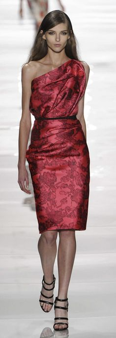 Reem Acra Spring 2015 RTW Photos - Heart Over Heels #fashion #couture #runway