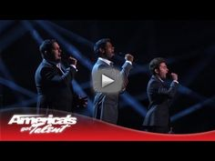 "Forte Tenors - Powerful ""Unchained Melody"" Cover - America's Got Talent Semi-Finals 2013 - The three guys who met online melt hearts with a powerful version of ""Unchained Melody."" Subscribe Now for More AGT:"