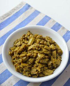 Gawar Phali ki Sabzi | Guwar Phali nu shak | Gujarati Shak | Cluster beans curry