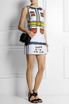 Alice + Olivia Love Is In The Air jacquard mini dress
