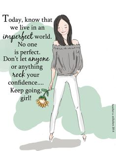 You Gotta Rock Your Own Confidence  Art Print  Art for Women and Girls  by RoseHillDesignStudio, $20.00