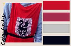 costumes de chevaliers patron de la cagoule Costume Chevalier, Costumes, Blog, World Animals, Knights, Boss, Dress Up Clothes, Fancy Dress, Blogging