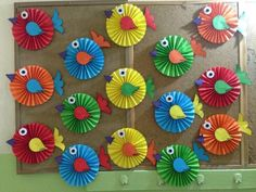Nature Art Activities For Preschool 53 Ideas Kids Crafts, Summer Crafts, Easter Crafts, Diy And Crafts, Arts And Crafts, Diy Y Manualidades, Paper Rosettes, Art N Craft, Paper Craft