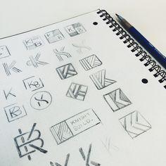 Img 1498 Typo Logo Design, Graphic Design Tips, Graphic Design Inspiration, Initial Logo, Monogram Logo, Share Logo, K Logos, Logo Sketches, Summer Fest
