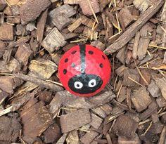 Nailed it!! ☺️☺️ ladybug golf ball