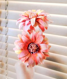 "Dahlias are an incredibly diverse species of flowers. Standing as symbols  of inner strength and creativity, they are the perfect flowers to gift to  loved ones. These paper dahlias are similar to peony-flowering dahlias -  bright, colorful, high petal counts that can be curled as you may see fit.  The template created for this particular flower will produce blooms that  are roughly 4"" in diameter. Dahlias range anywhere from small at 2""  diameters to large dinner plate sizes! As with paper…"