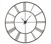 Open and over sized this clock is perfect in a space with high ceilings or brick walls from @wayfair