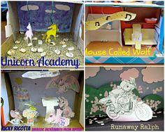 diorama book report