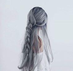 Para las de cabellera largo, diervertánse haciendo estos hermosos peinados @lostruquitosdeellas