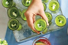 Kentucky Derby Recipes: Chilled Sweet Pea Soup with Mint and Cream