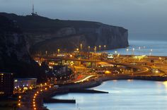 Rain at Dawn for Space City, White Cliffs of Dover, Kent, England, United Kingdom Dover Kent, White Cliffs Of Dover, Space City, Light Trails, Zoom Photo, Travel And Tourism, Dover England, Kent England, Great Britain