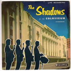Shadows at the Colosseum EP from 1961 a great record Hank Marvin, Record Rack, Dire Straits, Music Covers, Instrumental, Cliff, Rock And Roll, Shadows, Sheet Music
