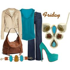 Fun Casual Friday Outfit