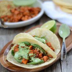 Crispy Quinoa Sweet Potato Tacos Recipe - ZipList