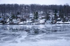 Rising temperatures thaw iced Lake Hopatcong into Mirrors.