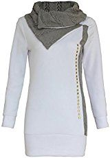 b51e74f11e27 Ularmo Damen Herbst Winter Hoodie Sweatshirt Pullover Bekleidung, Winter  Kapuzenpullover, Hoodie-kleid,