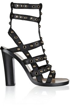 Lucie studded leather sandals