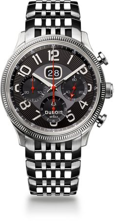 DuBois et fils Watch Chronograph Big Date Limited Edition Watch available to buy online from with free UK delivery. Dream Watches, Cool Watches, Rolex Watches, Le Locle, Limited Edition Watches, D 40, Swiss Army Watches, Luxury Watches For Men, Tag Heuer