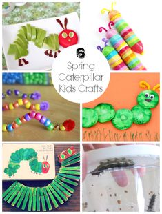 Spring is here and the bugs are out! We've actually seen a few caterpillars in our backyard crawling around. To help celebrate spring, I've gathered 6 super cute caterpillar crafts to make with kids! 6 Spring Caterpillar Kids Crafts 1. Cotton... Continue Reading →
