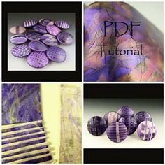 Crackling with Polymer Clay Tutorial