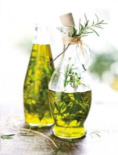 Rezept für provencalisches Kräuteröl zum selber machen