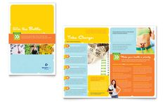 Half Page Flyer Template Free New Weight Loss Clinic Brochure Template Word & Publisher Free Brochure, Bi Fold Brochure, Brochure Design, Flyer Design, Creative Brochure, Brochure Cover, Easy Weight Loss, Healthy Weight Loss, How To Lose Weight Fast
