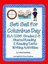 Set Sail for Columbus Day ELA CCSS Grades 2-3 product from LMN-Tree on TeachersNotebook.com