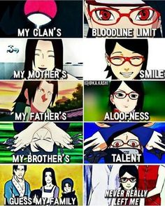 I love that sasuke has a family know #ad