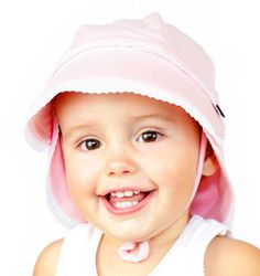 Bedhead Legionnaire Hat kids hats with Strap for baby girls & boys. UPF 50+ Sun Protection