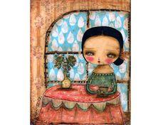 Coffee And Rain - Danita Art