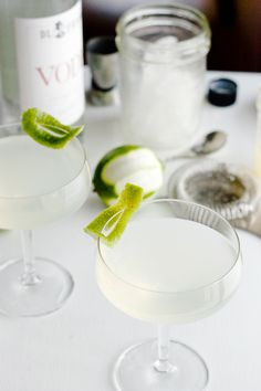 The Gimlet is a gin-and-sweetened-lime-juice cocktail juice that dates back to the '20s. The classic combo is crafted by shaking 2 oz. of gin with 1/4 oz. of Rose's Lime Juice with ice in a shaker, and then straining into a chilled cocktail glass. Garnish with a lime wedge.