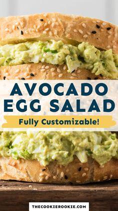 Lunch Meal Prep, Healthy Meal Prep, Good Healthy Recipes, Eating Healthy, Dinner Healthy, Healthy Salmon Recipes, Detox Recipes, Egg Salad Sandwich Recipe Healthy, Clean Food Recipes