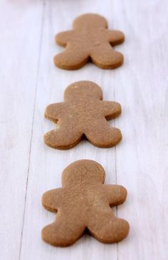Gingerbread Cookies That Won't Spread   http://www.thekitchenpaper.com/gingerbread-cookies-wont-spread/