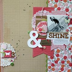 Pebbles, Country Picnic Collection  These kits look so good! Thinking of going digital!
