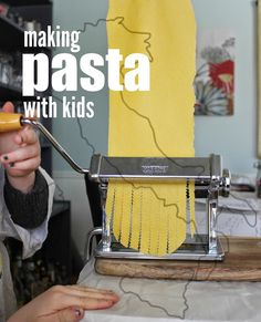 Marie's Pastiche: Explore Italy with Kids: How to Make Pasta at Home