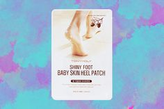 Even though you've scrubbed off a seaon's worth of dead skin with your scrub mitt, the feet can still be painfully overlooked this time of year. This foot mask is amazing for those hardened heels, especially as we (hopefully, fingers crossed) head for spring.   Tonymoly Shiny Foot Baby Skin Heel Patch, $2.99, available at Amazon.