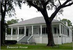 Beauvoir Jefferson Davis Home - Biloxi Mississippi
